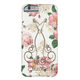 Capa Barely There Para iPhone 6 Vestido elegante adorável, floral