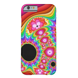 Capa Barely There Para iPhone 6 Viagem Groovy do Fractal
