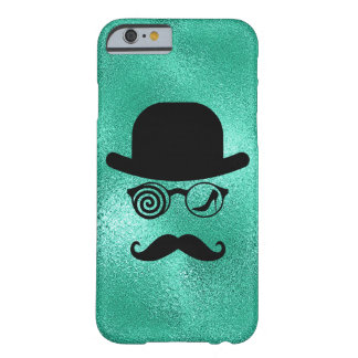 Capa Barely There Para iPhone 6 Vidros dos bigodes do Womanizer do lobo do