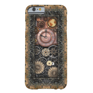 Capa Barely There Para iPhone 6 Vintage Infernal Steampunk do relógio #2B de