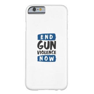 Capa Barely There Para iPhone 6 Violência armada do fim agora