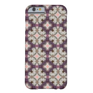 Capa Barely There Para iPhone 6 Violet Kaleidoscope Pattern