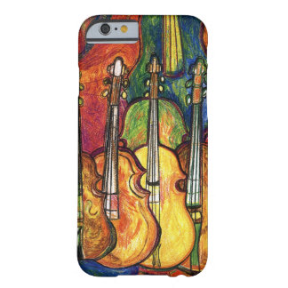 Capa Barely There Para iPhone 6 Violinos