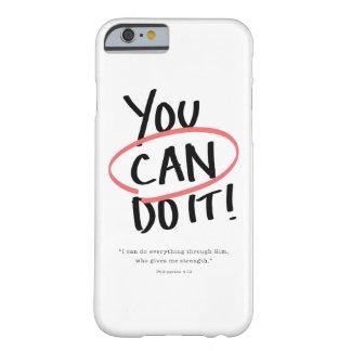 Capa Barely There Para iPhone 6 Você pode fazê-lo!