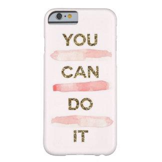 Capa Barely There Para iPhone 6 você pode fazê-lo caso móvel