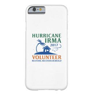 Capa Barely There Para iPhone 6 Voluntário de Irma do furacão