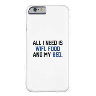 Capa Barely There Para iPhone 6 WifiFoodBed1C