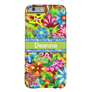 Capa Barely There Para iPhone 6 Wildflowers nas cores vívidas personalizadas