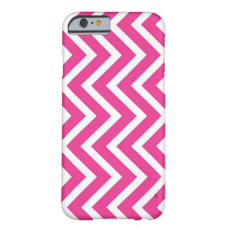 Capa Barely There Para iPhone 6 Ziguezague cor-de-rosa