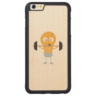 Capa Bumper Para iPhone 6 Plus De Bordo, Carved Ampola da malhação com peso Z1zu3
