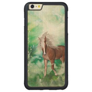 Capa Bumper Para iPhone 6 Plus De Bordo, Carved Cavalo bonito no país das maravilhas