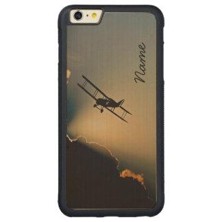 Capa Bumper Para iPhone 6 Plus De Bordo, Carved Céu plano do Bi