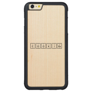 Capa Bumper Para iPhone 6 Plus De Bordo, Carved Elemento químico Z57c7 dos biscoitos