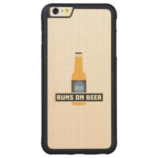Capa Bumper Para iPhone 6 Plus De Bordo, Carved Funcionamentos na cerveja Z7ta2