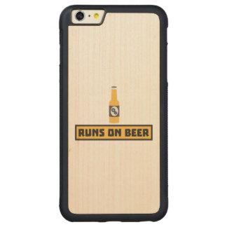 Capa Bumper Para iPhone 6 Plus De Bordo, Carved Funcionamentos na cerveja Zmk10