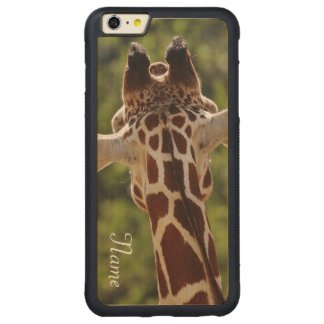 Capa Bumper Para iPhone 6 Plus De Bordo, Carved Girafa