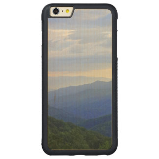 Capa Bumper Para iPhone 6 Plus De Bordo, Carved Great Smoky Mountains