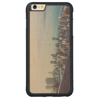 Capa Bumper Para iPhone 6 Plus De Bordo, Carved Hong Kong de cima de