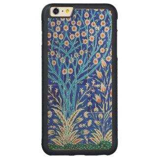 Capa Bumper Para iPhone 6 Plus De Bordo, Carved Jardim bonito