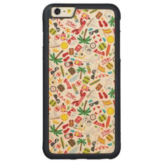 Capa Bumper Para iPhone 6 Plus De Bordo, Carved Mar sul do viagem das férias de verão do teste