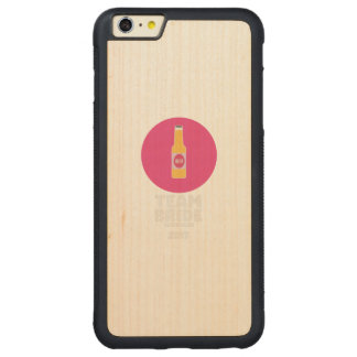 Capa Bumper Para iPhone 6 Plus De Bordo, Carved Noiva Edimburgo da equipe Henparty 2017 Z513r