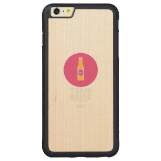 Capa Bumper Para iPhone 6 Plus De Bordo, Carved Noiva Vancôver da equipe Henparty 2017 Zkj6h