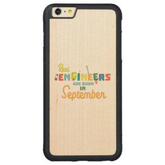 Capa Bumper Para iPhone 6 Plus De Bordo, Carved Os engenheiros são em setembro Zt500 nascidos