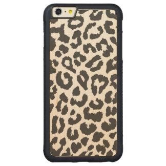 Capa Bumper Para iPhone 6 Plus De Bordo, Carved Padrões pretos & brancos da pele animal do