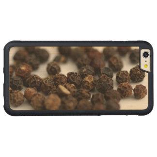 Capa Bumper Para iPhone 6 Plus De Bordo, Carved Pimenta preta