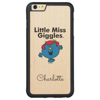 Capa Bumper Para iPhone 6 Plus De Bordo, Carved Senhorita pequena pequena Riso Gosto Riso da