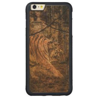 Capa Bumper Para iPhone 6 Plus De Bordo, Carved Tigre selvagem majestoso dos animais selvagens da