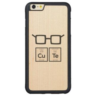 Capa Bumper Para iPhone 6 Plus De Bordo, Carved Vidros bonitos Zwp34 do nerd do elemento químico