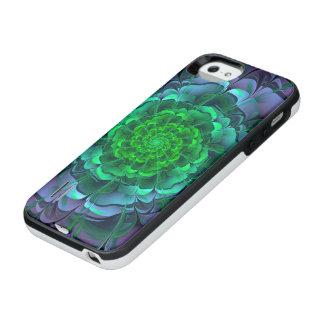 Capa Carregador Para iPhone SE/5/5s Aeonium roxo & verde bonito Arboreum Zwartkop