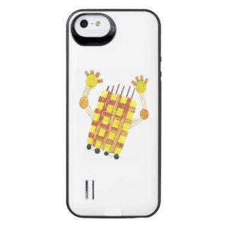 Capa Carregador Para iPhone SE/5/5s Bloco de patinagem da bateria do sabão