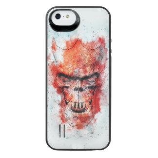Capa Carregador Para iPhone SE/5/5s Crânio do animal