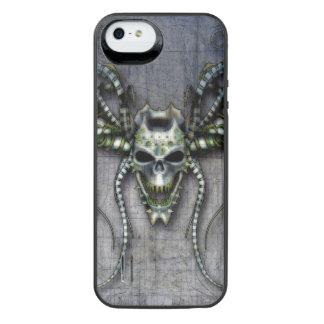 Capa Carregador Para iPhone SE/5/5s Crânio estrangeiro