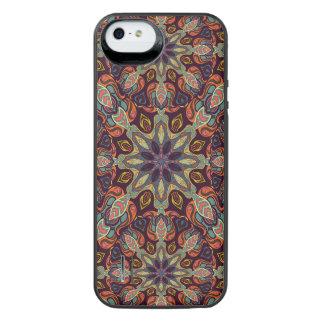 Capa Carregador Para iPhone SE/5/5s Design floral do teste padrão do abstrato da