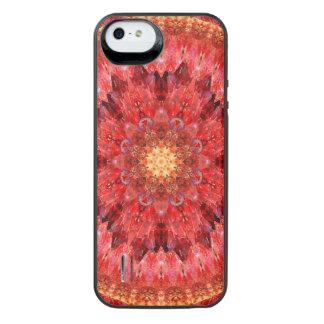 Capa Carregador Para iPhone SE/5/5s Mandala de cristal do fogo