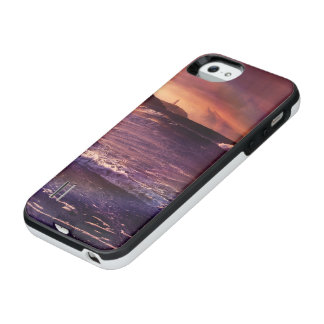 Capa Carregador Para iPhone SE/5/5s No horizonte do Fractalscape infinito