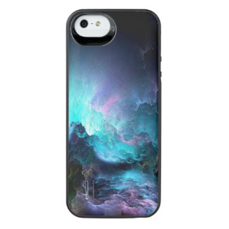 Capa Carregador Para iPhone SE/5/5s Oceano tormentoso irreal