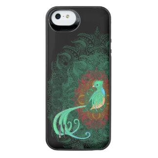 Capa Carregador Para iPhone SE/5/5s Quetzal encaracolado