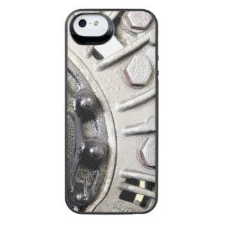 Capa Carregador Para iPhone SE/5/5s Rebites de prata do metal
