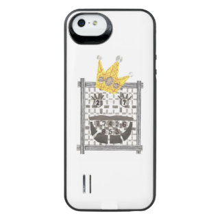 Capa Carregador Para iPhone SE/5/5s Rei Sudoku Bateria Embalagem