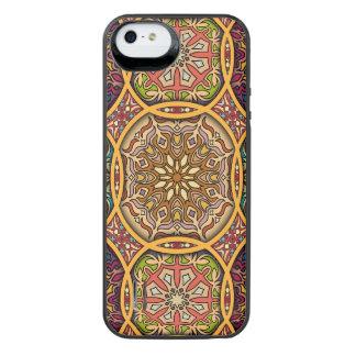 Capa Carregador Para iPhone SE/5/5s Retalhos do vintage com elementos florais da