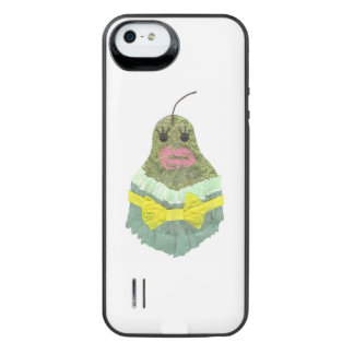 Capa Carregador Para iPhone SE/5/5s Senhora Pera Bateria Embalagem