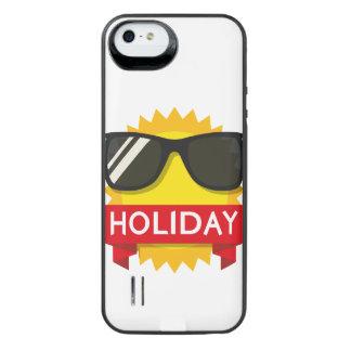 Capa Carregador Para iPhone SE/5/5s Sol legal dos sunglass