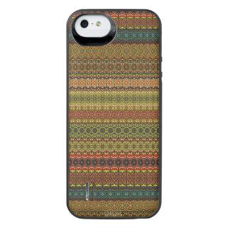 Capa Carregador Para iPhone SE/5/5s Teste padrão asteca tribal do vintage