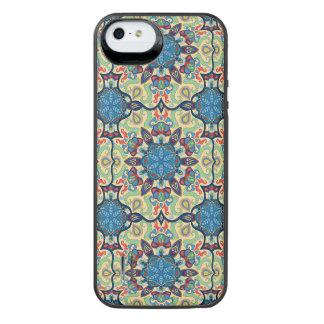 Capa Carregador Para iPhone SE/5/5s Teste padrão floral étnico abstrato colorido de da