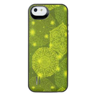 Capa Carregador Para iPhone SE/5/5s Teste padrão luxuoso floral da mandala