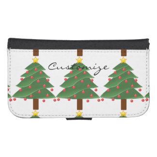 Capa Carteira Árvore de Natal Thunder_Cove